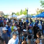 Utah Valley Marathon outdoor booths