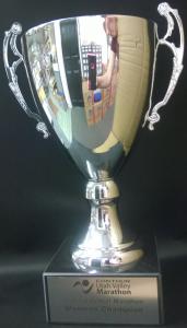 Utah Half Marathon trophy