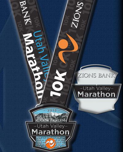 Utah-Valley-10K-Medal