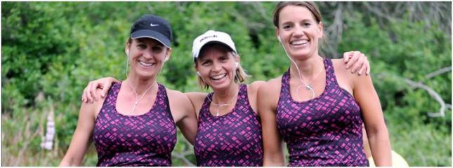 Utah Valley Marathon Relay runners